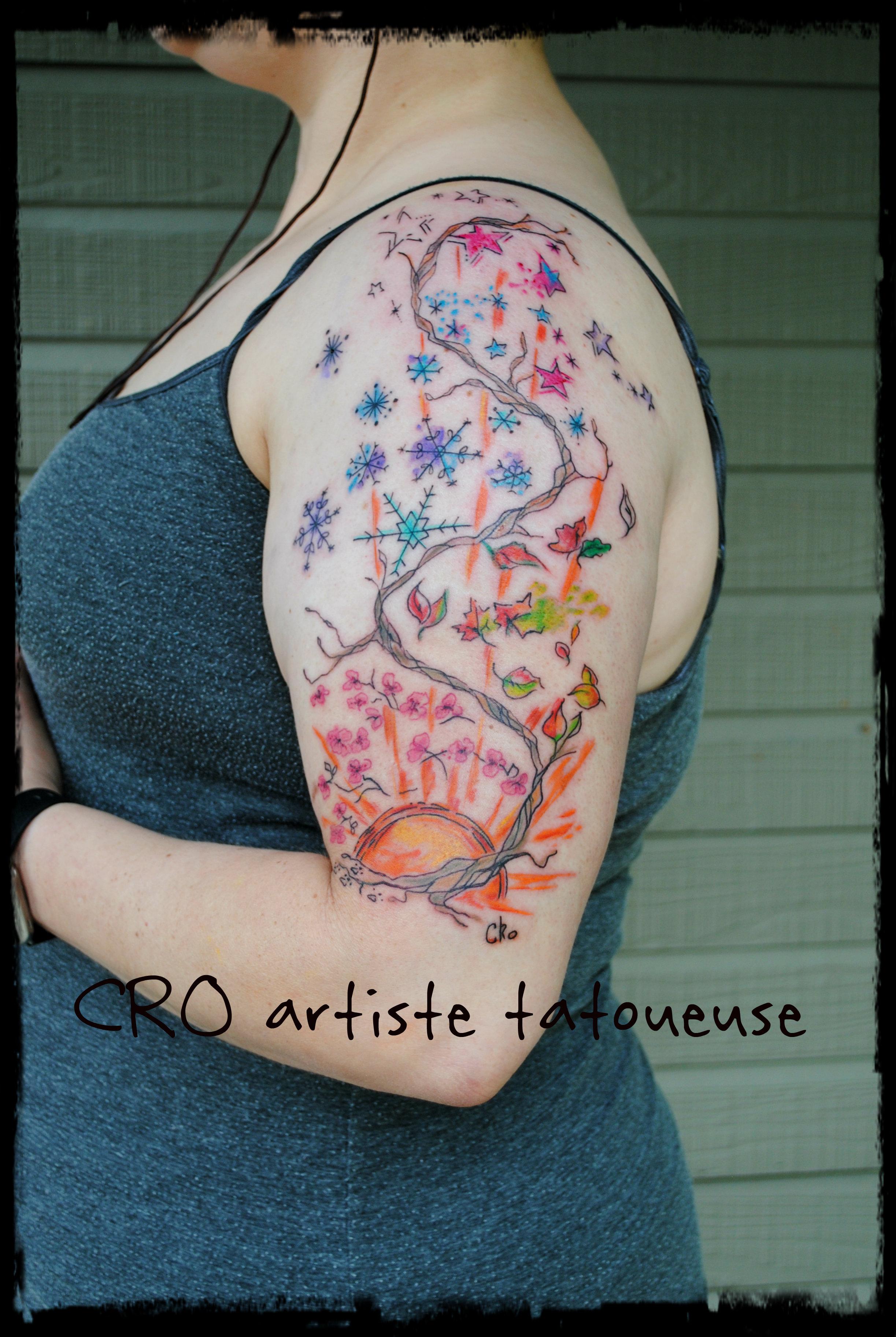 tattoo 4 saisons