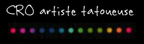 CRO Artiste Tatoueuse Logo